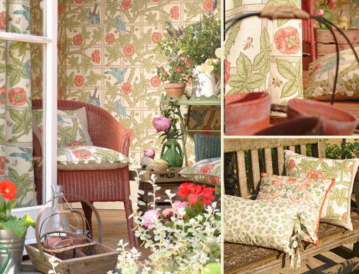 Trellis is one of the first and most recognisable designs from William Morris, registered in 1864 and designed for his own home 'Red House.' Available in 4 colourways.