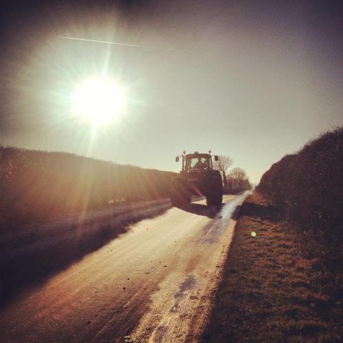 Lincolnshire tractor
